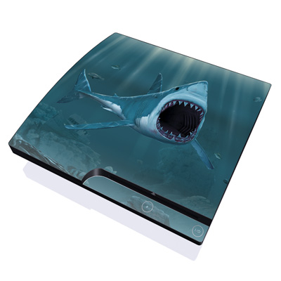 PS3 Slim Skin - Great White