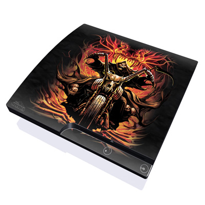 PS3 Slim Skin - Grim Rider