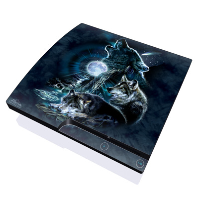 PS3 Slim Skin - Howling