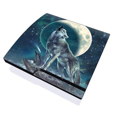 PS3 Slim Skin - Howling Moon Soloist
