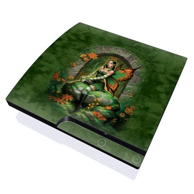 PS3 Slim Skin - Jade Fairy