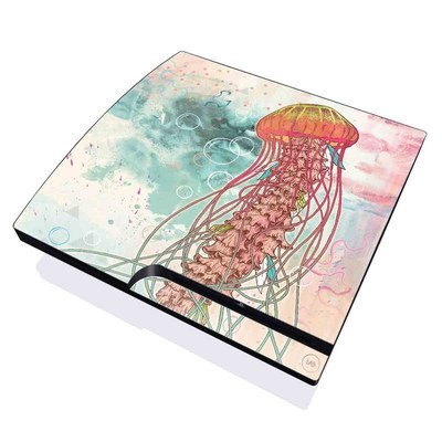 PS3 Slim Skin - Jellyfish