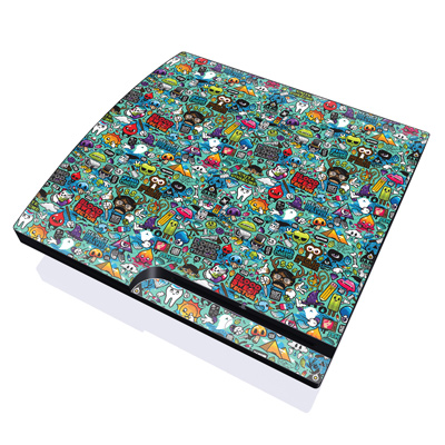 PS3 Slim Skin - Jewel Thief