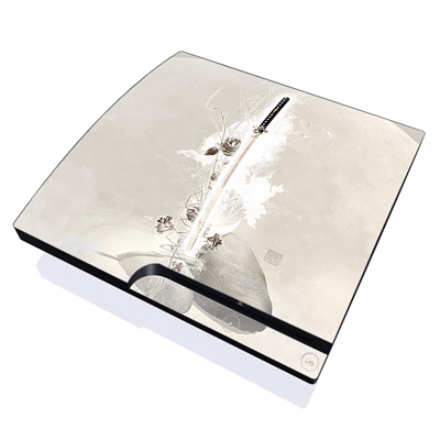PS3 Slim Skin - Katana Gold