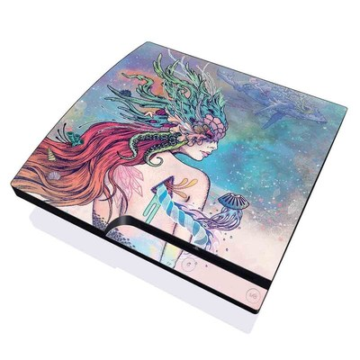 PS3 Slim Skin - Last Mermaid