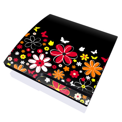 PS3 Slim Skin - Laurie's Garden
