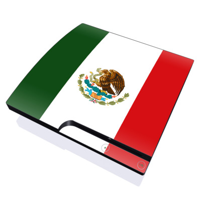 PS3 Slim Skin - Mexican Flag
