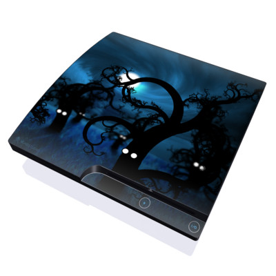 PS3 Slim Skin - Midnight Forest