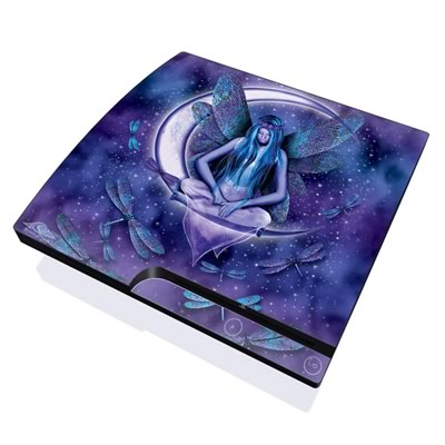 PS3 Slim Skin - Moon Fairy
