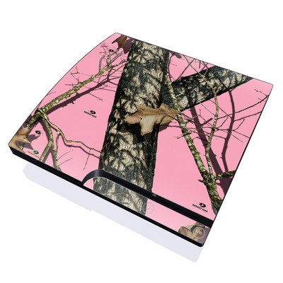 PS3 Slim Skin - Break-Up Pink