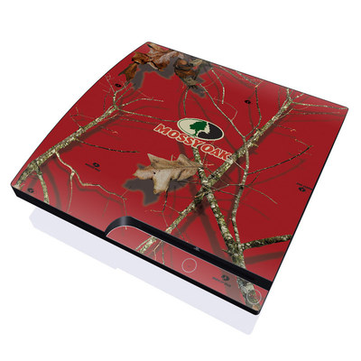 PS3 Slim Skin - Break-Up Lifestyles Red Oak
