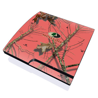 PS3 Slim Skin - Break-Up Lifestyles Salmon