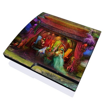 PS3 Slim Skin - A Mad Tea Party
