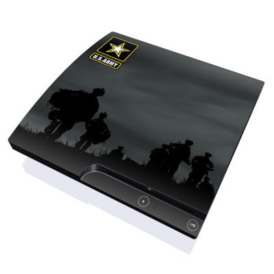 PS3 Slim Skin - Night Action