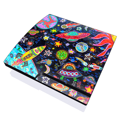 PS3 Slim Skin - Out to Space