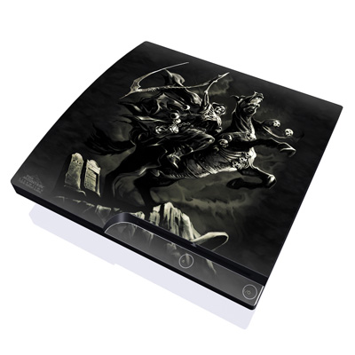 PS3 Slim Skin - Pale Horse