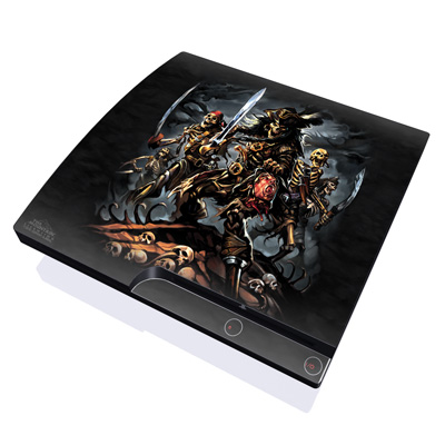 PS3 Slim Skin - Pirates Curse
