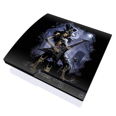 PS3 Slim Skin - Play Dead