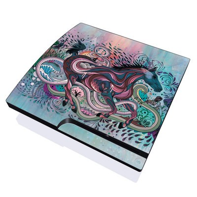 PS3 Slim Skin - Poetry in Motion