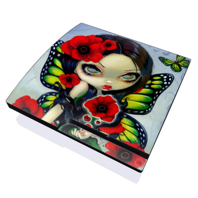 PS3 Slim Skin - Poppy Magic
