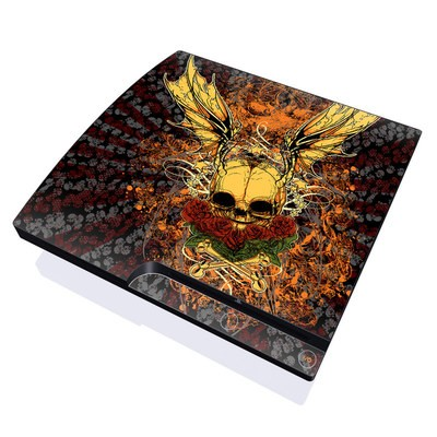 PS3 Slim Skin - Radiant Skull
