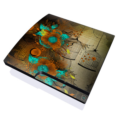 PS3 Slim Skin - Rusty Lace