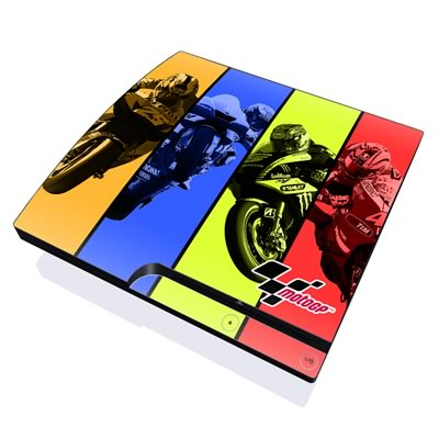 PS3 Slim Skin - Race Panels