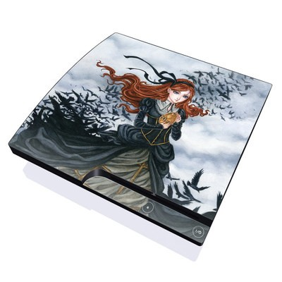 PS3 Slim Skin - Raven's Treasure