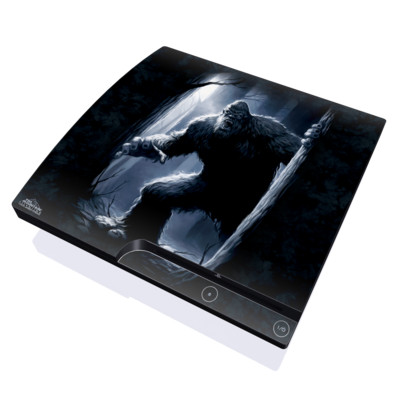 PS3 Slim Skin - Sasquatch