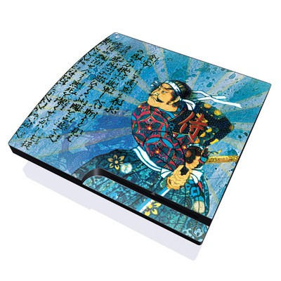 PS3 Slim Skin - Samurai Honor