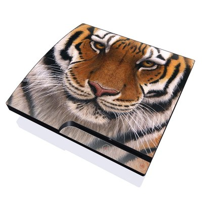 PS3 Slim Skin - Siberian Tiger