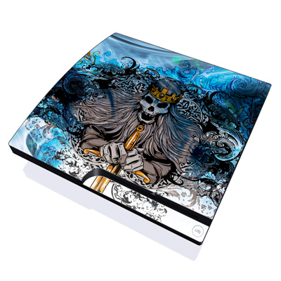 PS3 Slim Skin - Skeleton King