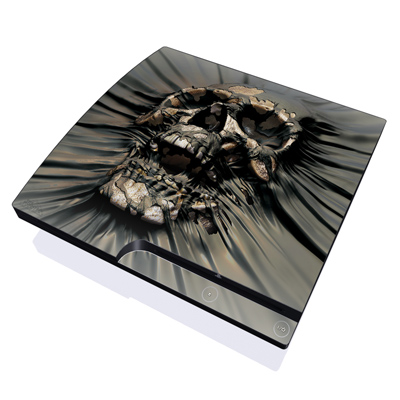 PS3 Slim Skin - Skull Wrap