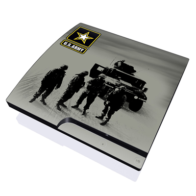 PS3 Slim Skin - Soldiers All