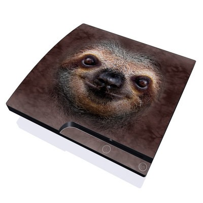 PS3 Slim Skin - Sloth