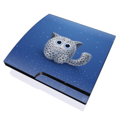 PS3 Slim Skin - Snow Leopard