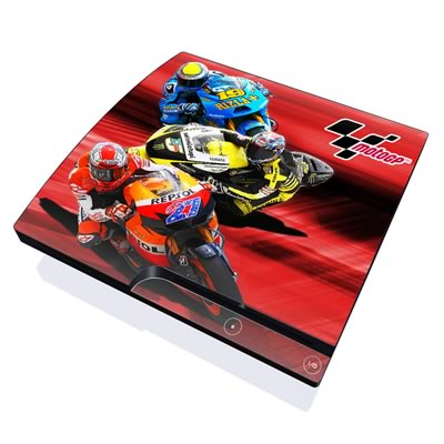 PS3 Slim Skin - Speed Collage