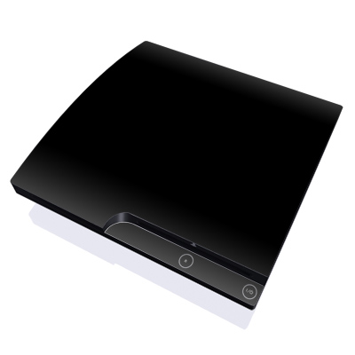 PS3 Slim Skin - Solid State Black