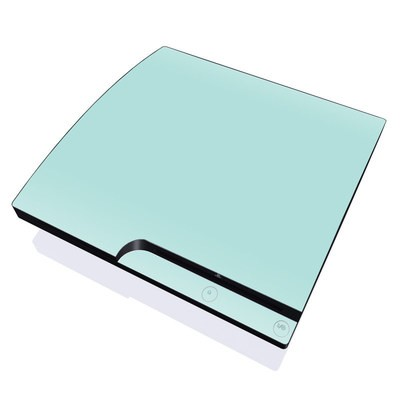 PS3 Slim Skin - Solid State Mint