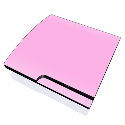 PS3 Slim Skin - Solid State Pink