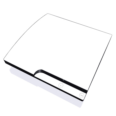 PS3 Slim Skin - Solid State White