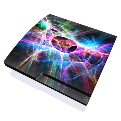 PS3 Slim Skin - Static Discharge