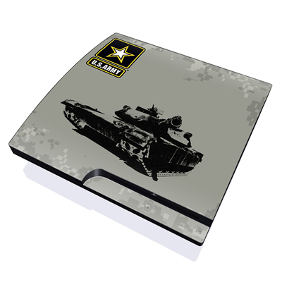 PS3 Slim Skin - Tank Tuff