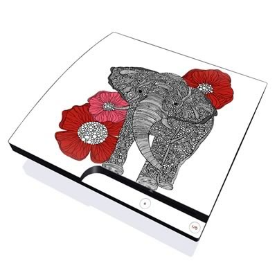 PS3 Slim Skin - The Elephant