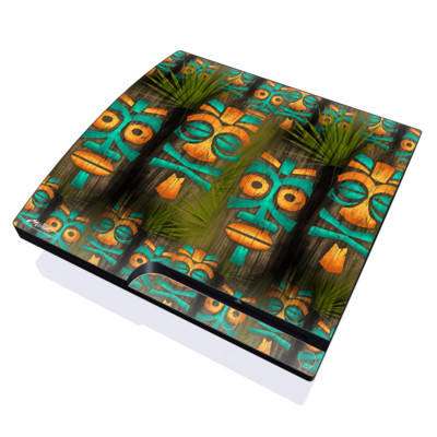 PS3 Slim Skin - Tiki Abu