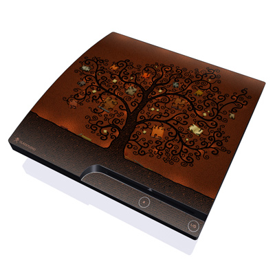PS3 Slim Skin - Tree Of Books