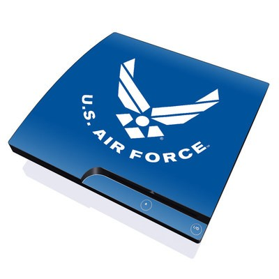 PS3 Slim Skin - USAF Blue