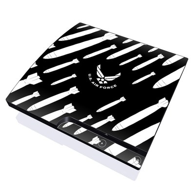 PS3 Slim Skin - Bombs Away