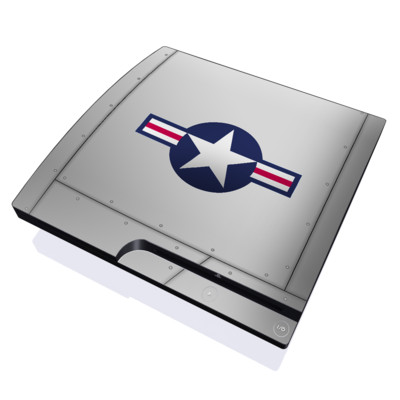 PS3 Slim Skin - Wing