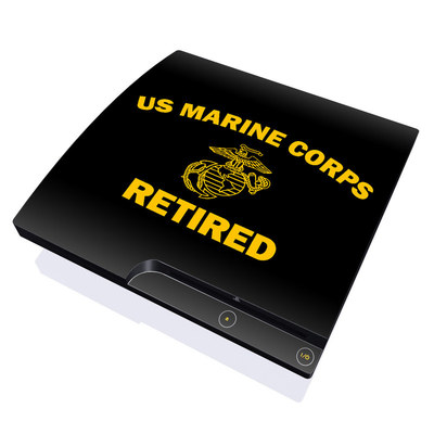 PS3 Slim Skin - USMC Retired